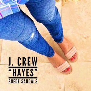 • Suede Sandals •